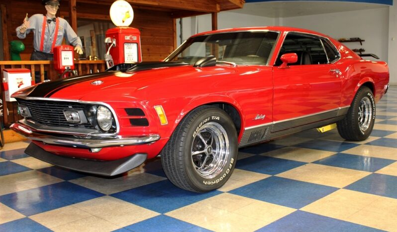 """1970 Ford Mustang Mach 1 """"Tribute"""" – Red / Black full"""