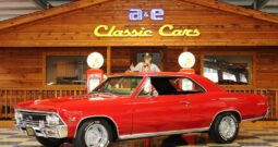 1966 Chevrolet Chevelle SS – Red