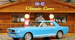 1966 Ford Mustang Coupe – Blue / White