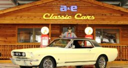 """1966 Ford Mustang Coupe """"A Code"""" – Springtime Yellow / Black"""