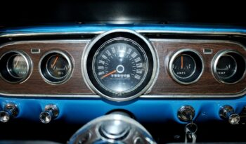 1966 Ford Mustang Coupe – Blue / White full
