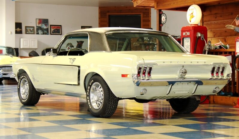 1968 Ford Mustang Coupe – Seafoam Green / Black full