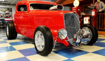 1934 Ford Coupe – Scarlet Red full